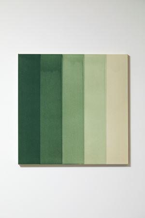 Green Water Colour by Simon Morris contemporary artwork
