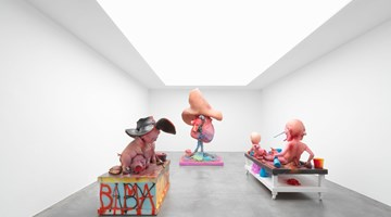 Contemporary art exhibition, Paul McCarthy, Mixed Bag at Xavier Hufkens, St-Georges, Brussels