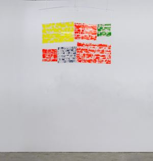 Scenery Flags A by Jin Jinghong contemporary artwork