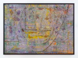 Jetty by Frank Bowling contemporary artwork
