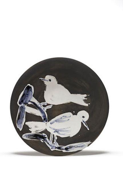 Deux oiseaux by Pablo Picasso contemporary artwork