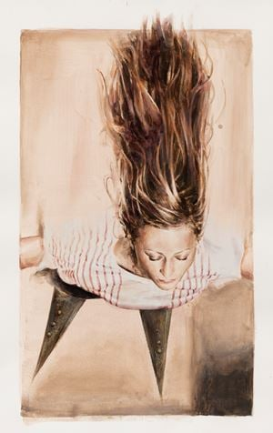 The Leap by Jan De Maesschalck contemporary artwork