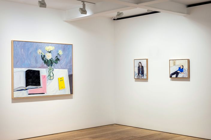 Exhibition view:Jean-Philippe Delhomme, Flowers for Books, Perrotin, Seoul (29 April–28 May 2021). Courtesy the Artist and Perrotin.Photo: Hyunjun Lee.