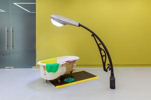 A Freezer by Jessica Stockholder contemporary artwork
