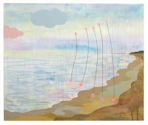 Okända landskap med trådar 3 by Carin Ellberg contemporary artwork