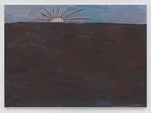 Sunrise by Philip Guston contemporary artwork