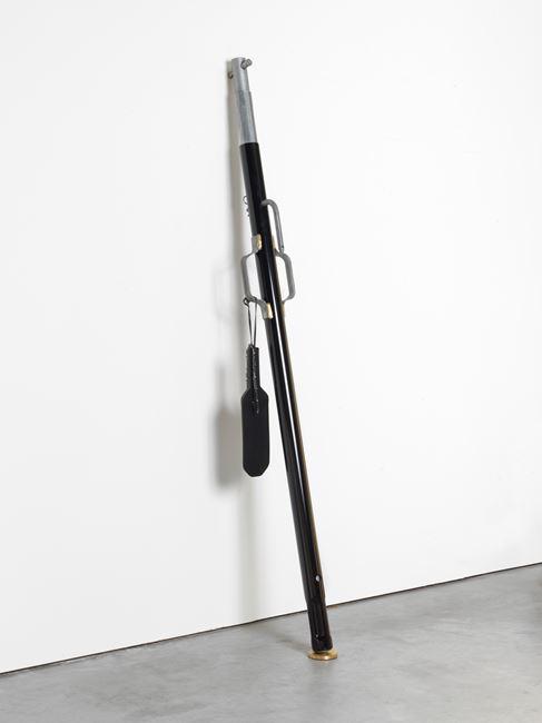 Diener #1 black by Monica Bonvicini contemporary artwork