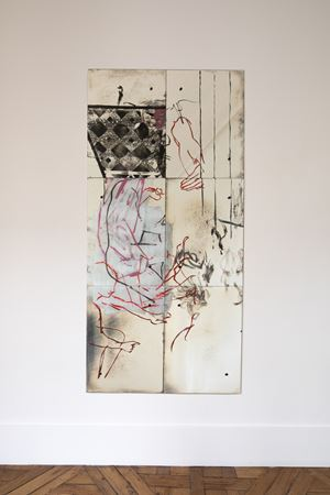 Untitled by Nick Mauss contemporary artwork