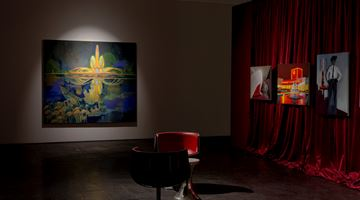 Contemporary art exhibition, Kate Gottgens, Skyglow on Mars Black at SMAC Gallery, Cape Town