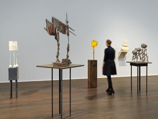Exhibition view: Phyllida Barlow, small worlds, Hauser & Wirth, Zürich (online from 6 February–14 May 2021). © Phyllida Barlow. Courtesy the artist and Hauser & Wirth.