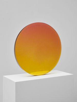 Circle Sepia to Violet by De Wain Valentine contemporary artwork