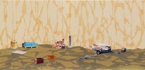 Arrangement: Pile Up by Eve Armstrong contemporary artwork mixed media