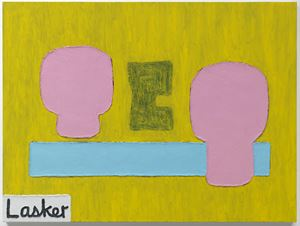 TO INCREASE THE VOID by Jonathan Lasker contemporary artwork