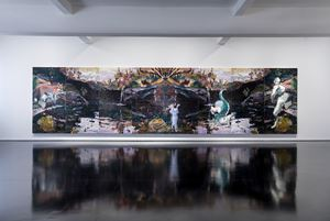 150 Year, Rorschach by Ben Quilty contemporary artwork