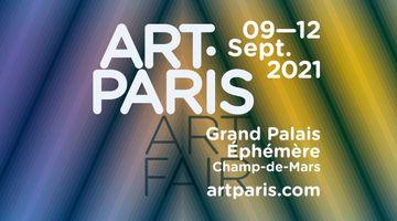 Contemporary art art fair, Art Paris 2021 at Almine Rech, Brussels, Belgium