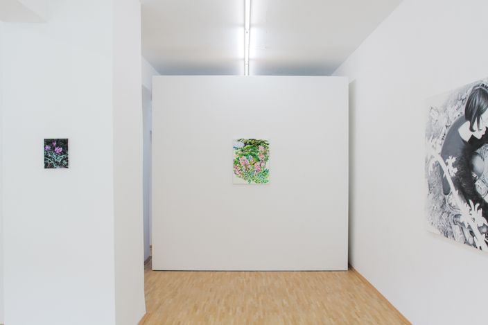 Exhibition view: Anita Fricek, Body Languages of Care, Boutwell Schabrowsky Gallery, Munich (25 March–24 April 2021). Courtesy Boutwell Schabrowsky Gallery.