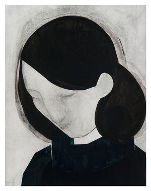 Head (bowed) by Iris Schomaker contemporary artwork