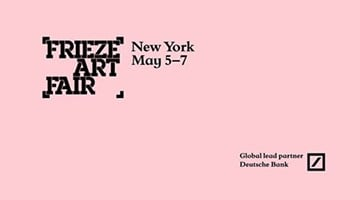 Contemporary art exhibition, Frieze New York 2017 at Xavier Hufkens, Brussels