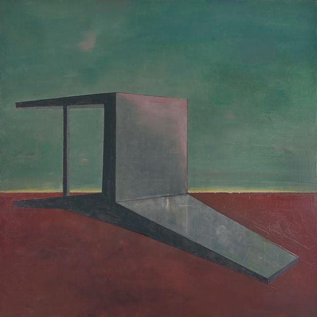 Fallen Backrest Chair - Twilight by Mao Xuhui contemporary artwork