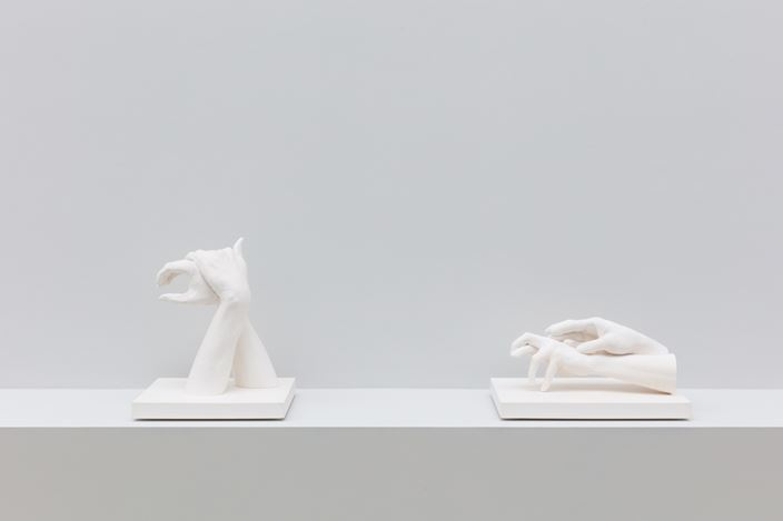 Exhibition view: Marcus Coates, Near-Life Experience, Kate MacGarry, London (5 April–18 May 2019). Courtesy Kate MacGarry.