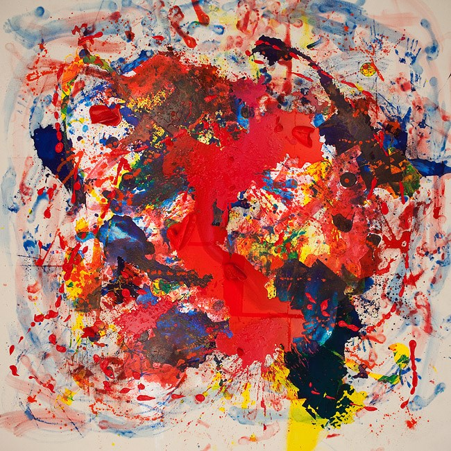 Loaded: Red #3 by Julie Rrap contemporary artwork