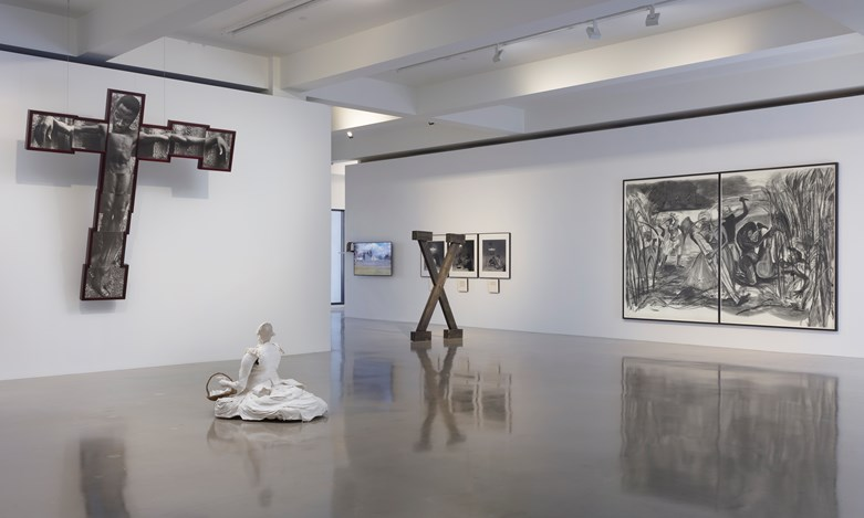 Exhibition view: Curated by Todd Levin, POWER, Work By African American Women From The Nineteenth Century To Now at Sprüth Magers, Los Angeles (29 March–10 June 2017). Courtesy Sprüth Magers. Photo: Robert Wedemeyer.
