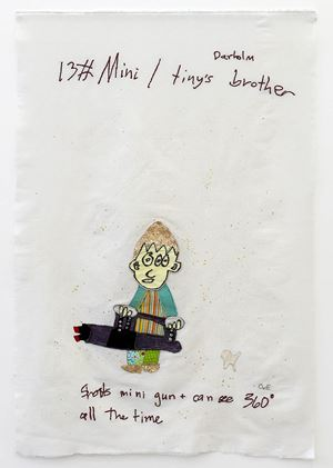 Mini by Charrette van Eekelen contemporary artwork painting, works on paper, photography, print