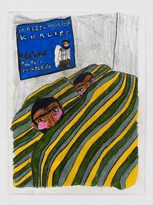 Bedwork by Soufiane Ababri contemporary artwork