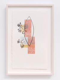 Pedernal I by Mariana Castillo Deball contemporary artwork painting, works on paper