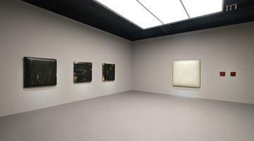 Contemporary art exhibition, Su Xiaobai, Beneath a descending moon, breathing 一池光井 at Tina Keng Gallery, Taipei