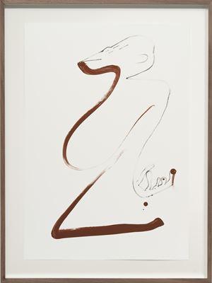 Autoportrait avec pouce opposable XXXIII by Abraham Cruzvillegas contemporary artwork