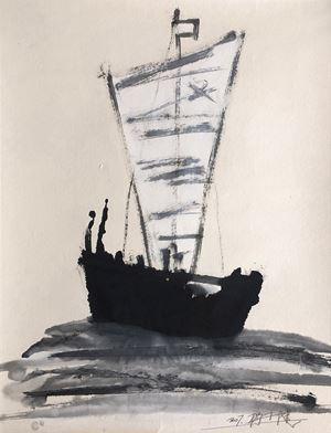 Pirate Ship 海盜船 by Yang Xiaojian contemporary artwork