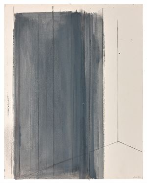 Composition (II), c.1975 by Geneviève Asse contemporary artwork