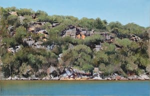 Summer Day, Hawkesbury River by A.J. Taylor contemporary artwork