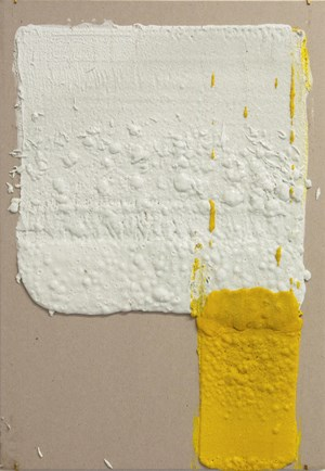 12in (Section) (W), 2.27mm (T), White, Crosswalk, Hand Marking; 4in (Section) (W), 2.27mm (T), Yellow, Double Yellow Continuous, Manual Marking, Lewis St, Btw Delancey St - Grand St by Vikram Divecha contemporary artwork
