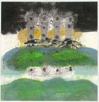 水月鏡像 Mirage by Lee Chung-Chung contemporary artwork painting, works on paper, drawing