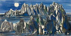 Mountain Grand View Series-3 by Chu Wei-Bor contemporary artwork