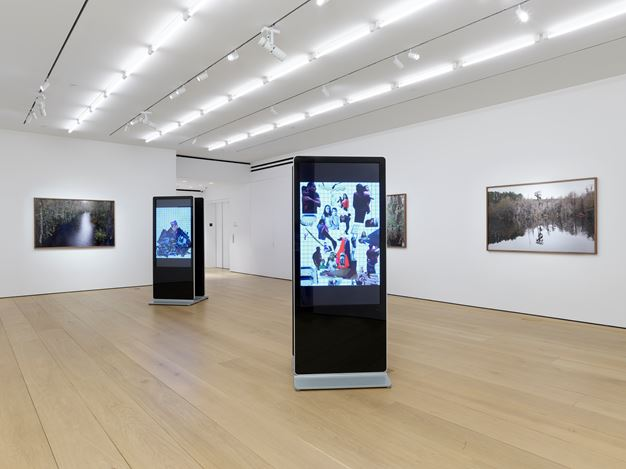Exhibition view: Catherine Opie, Rhetorical Landscapes, Lehmann Maupin, 501 West 24th Street, New York (6 July–26 September 2020). Courtesy Lehmann Maupin, New York, Hong Kong, and Seoul. Photo: Elisabeth Bernstein.