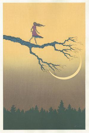 Lunar Eclipse by Atsushi Fukui contemporary artwork