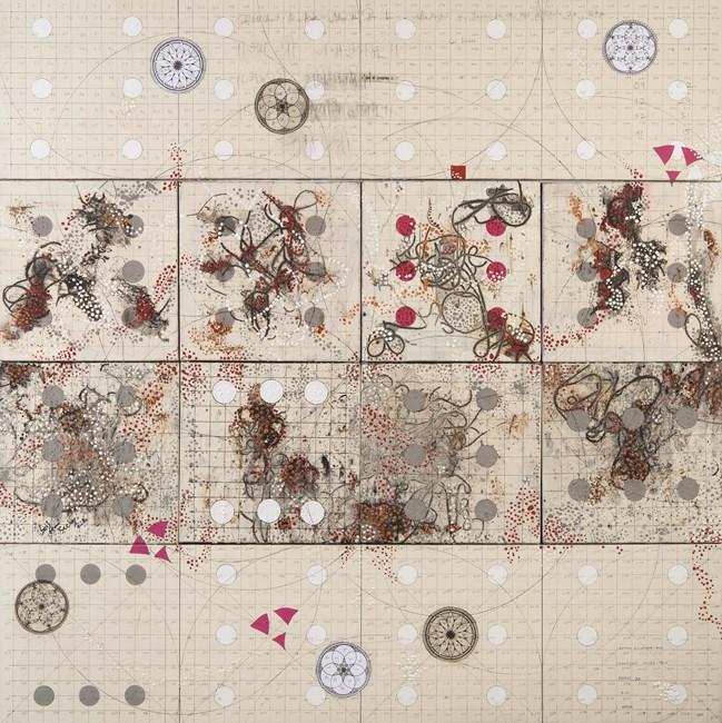 Birth Chart by Antonio Puri contemporary artwork