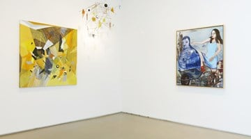 Contemporary art exhibition, Huguette Caland, Sarah Dwyer, Rosa Loy, Dannielle Tegeder, I shall stay the way I am because I do not give a damn... (Dorothy Parker) at Jane Lombard Gallery, New York