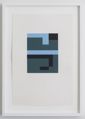 Untitled by Gordon Walters contemporary artwork