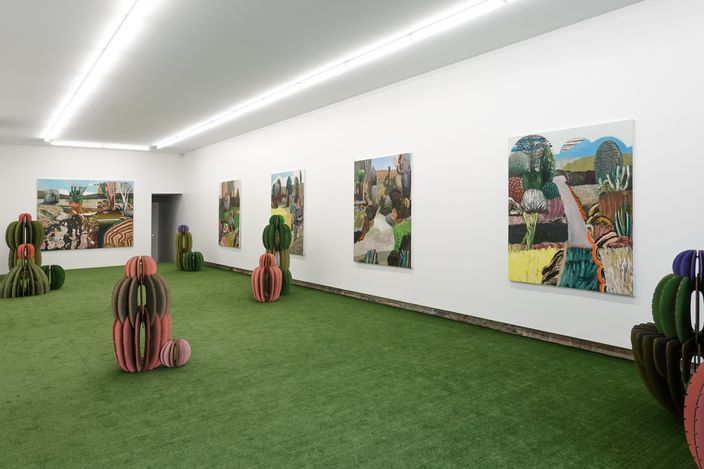 Exhibition view: Guy Maestri, short stories, Yavuz Gallery, Sydney (8 April–1 May 2021). Courtesy Yavuz Gallery.