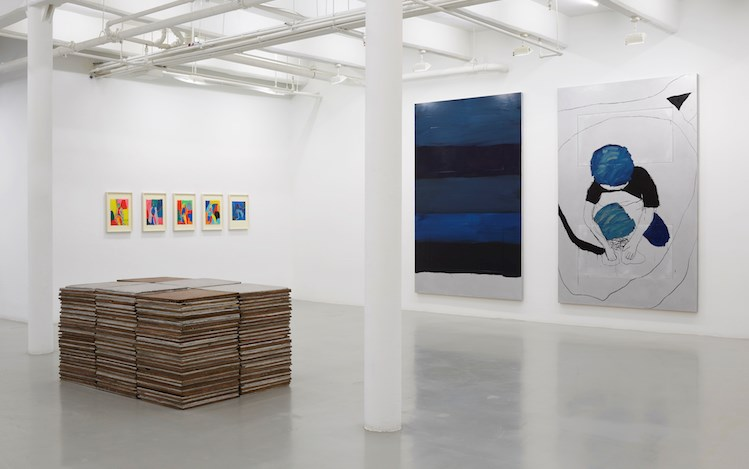 Exhibition view: Sean Scully, PAN, Lisson Gallery, 10th Avenue, New York (30 April–10 June 2019).© Sean Scully. Courtesy Lisson Gallery.