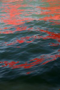 Riflessi (Red Regatta - 1 September 2019) - 1 by Melissa McGill contemporary artwork photography, print