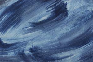 Bleu by Berthe Dubail contemporary artwork