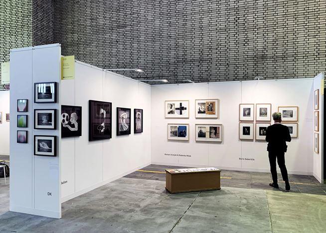 Exhibition view: paper positions berlin,Berlin (10–13 September 2020). Courtesy Galerija Fotografija,Ljubljana.