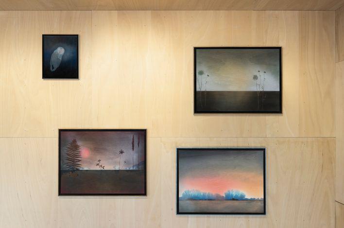 Exhibition view: Robert Elfgen, Higgs-Boson, Sprüth Magers, Berlin (28 April–25 August 2021). © Robert Elfgen. Courtesy Sprüth Magers. Photo: Ingo Kniest.