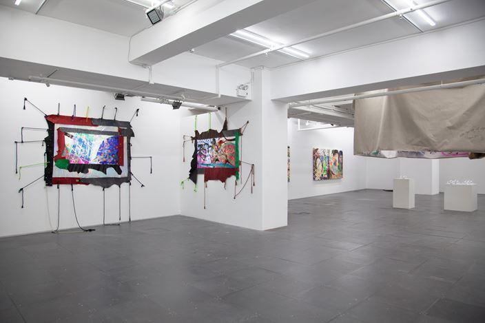 Exhibition view: Double Fly Art Center, Double Fly Awkward Pay, de Sarthe, Hong Kong (21 November 2020–23 January 2021). Courtesy de Sarthe.