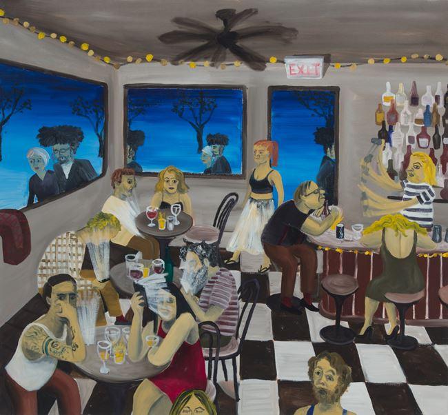 Clinton Hill Bar by Huang Hai-Hsin contemporary artwork